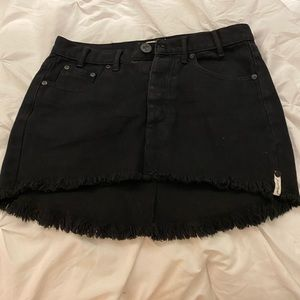 One Teaspoon Black Skirt